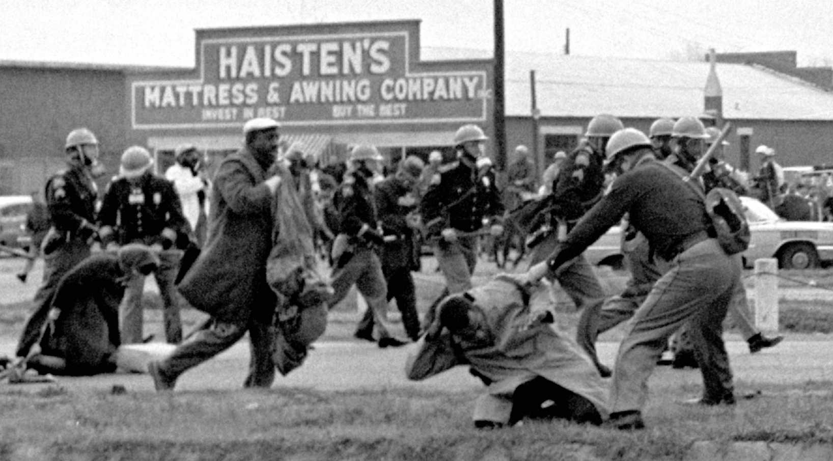 On March 7, 1965, Alabama state troopers beat civil rights marchers in Selma, Ala. This month marks the 50th anniversary of a day that led to passage of the Voting Rights Act of 1965. (AP)