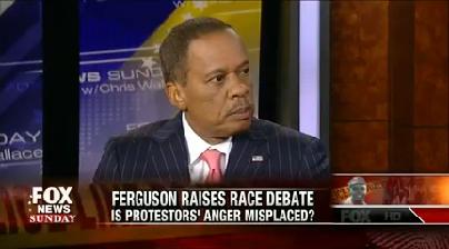 "Juan Williams on ""Fox News Sunday"" on Aug. 24, 2014."