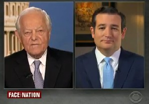 "Sen. Ted Cruz, R-Texas, appeared on the Jan. 26, 2014, edition of ""Face the Nation."""