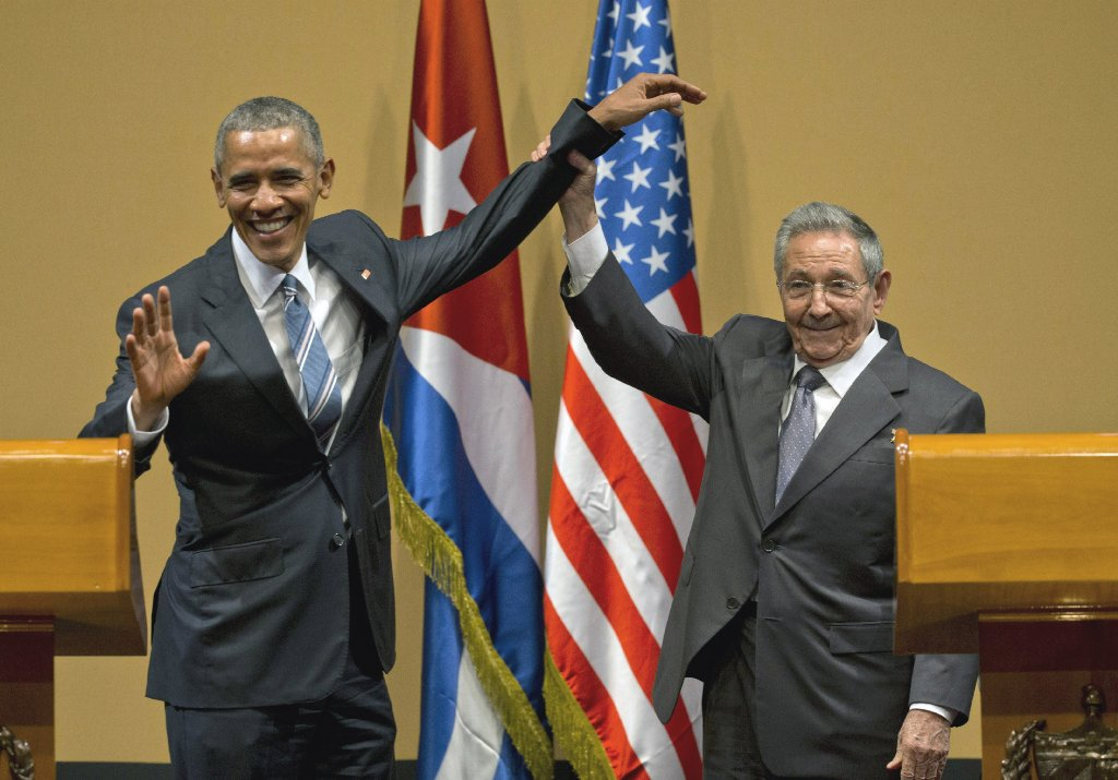 President Barack Obama's trip to Cuba last month marked the first time a U.S. president visited that nation since its 1959 revolution. (AP Photo).