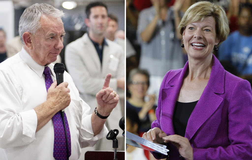 Republican Tommy Thompson and Democrat Tammy Baldwin square off Friday in the first of three U.S. Senate debates.