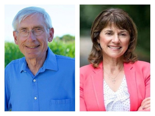 Tony Evers will challenge Gov. Scott Walker and Leah Vukmir will take on U.S. Sen. Tammy Baldwin.