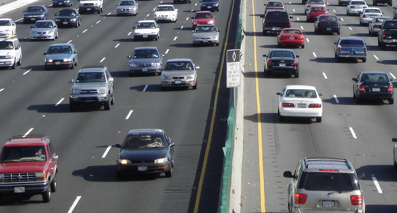 Top Democrats in California want a 12 cent gas tax increase to pay for road repairs. File photo / Capital Public Radio