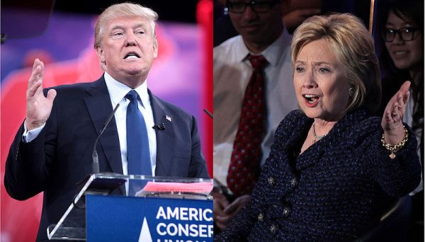 We compared Donald Trump and Hillary Clinton on their economic agendas. (Wikimedia Commons)