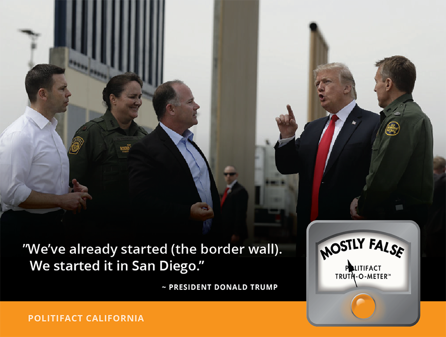 President Trump Unveils Blueprints for Wall on Mexican ...  Nevada Wall Border