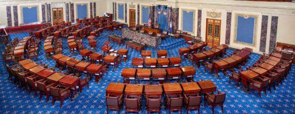 The U.S. Senate chamber. (Courtesy U.S. Senate)