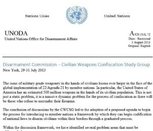 A reader sent us this document, which appears to be from the United Nations. But is it legit?