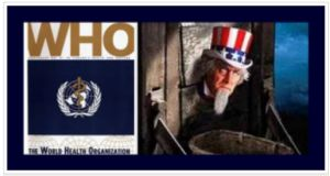 One blog used this image of Uncle Sam in the guillotine to dramatize the threat from Obamacare-linked beheadings.