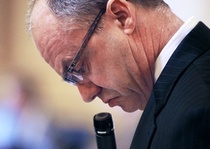 Minority Leader Ward Armstrong was upset to learn the SCC gave him the wrong number.