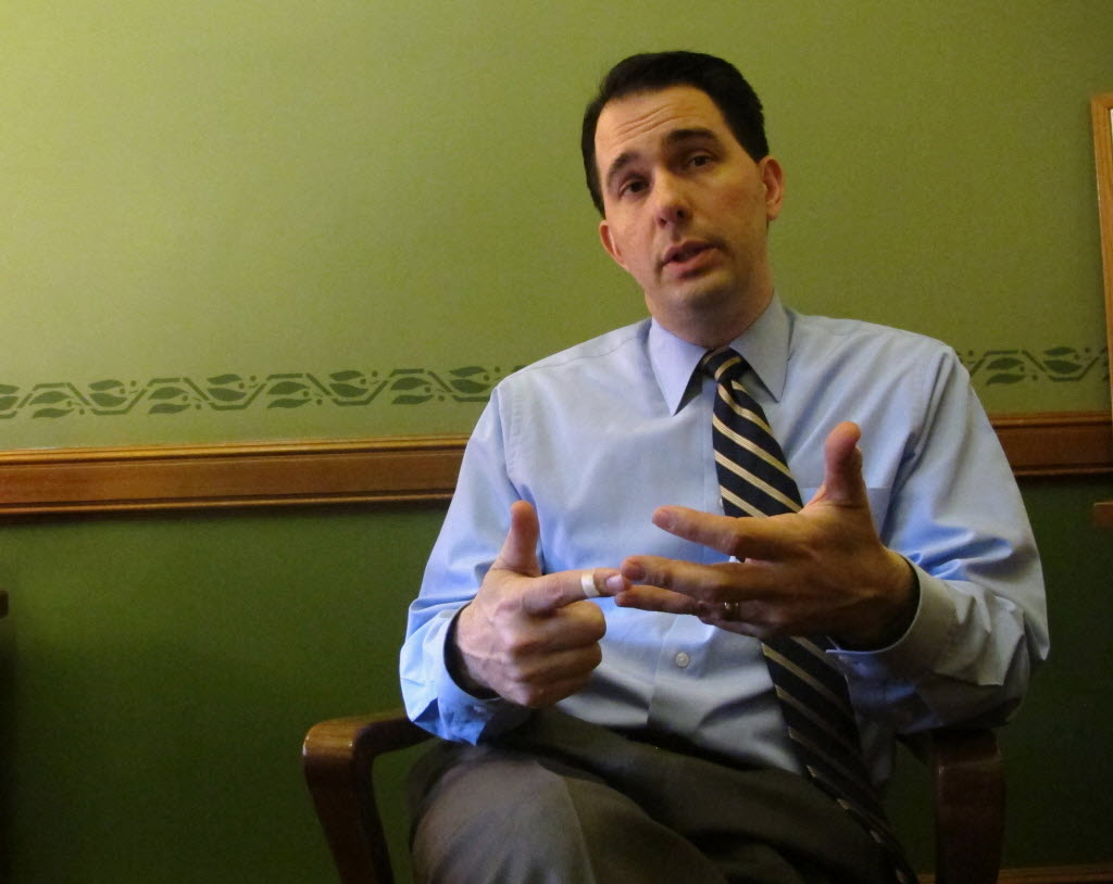 The three items that got the most PolitiFact Wisconsin page-views in August 2013 involved Gov. Scott Walker.