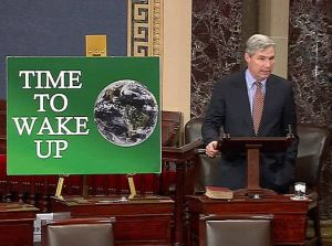 U.S. Sen. Sheldon Whitehouse, D-R.I., spoke on the Senate floor earlier this week about climate change.