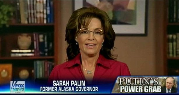 "Sarah Palin took to Facebook to say ""Told-Ya-So"" over a prediction she made in 2008 about Ukraine."