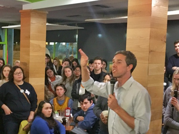 Beto O'Rourke says parents told in PTA meetings that kids should
