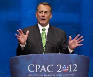 House Speaker John Boehner of Ohio says Barack Obama's policies have made the economy worse.
