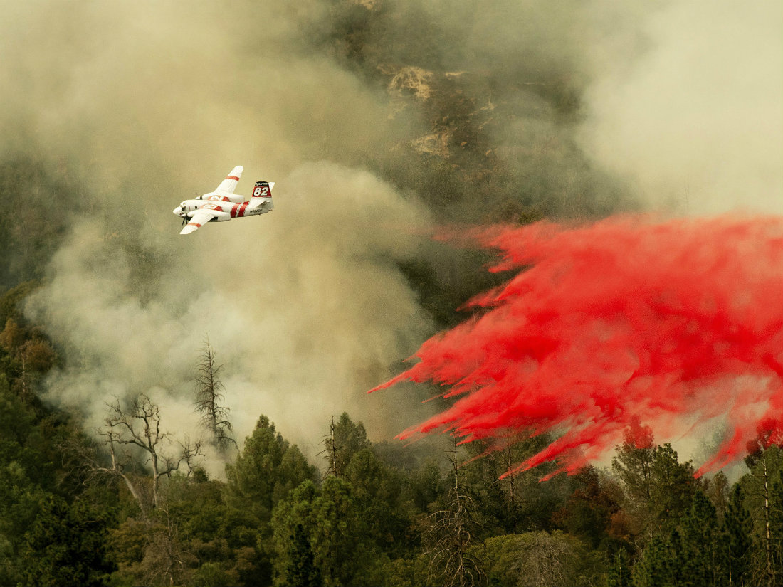 Trump halts federal funding to fight California wildfires