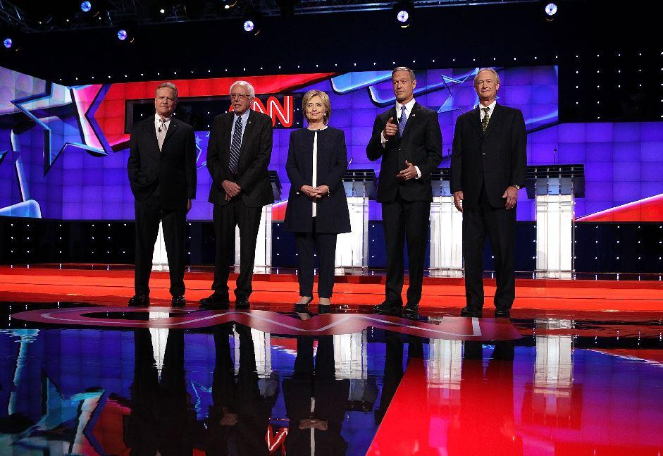 Factchecking The First Democratic Presidential Debate  Politifact The Democratic Presidential Candidates Prepare To Answer Questions At The  First Democratic Debate Hosted By Cnn Causes Of The English Civil War Essay also Custom Car Builder Business Plan Bundle  Essays For High School Students