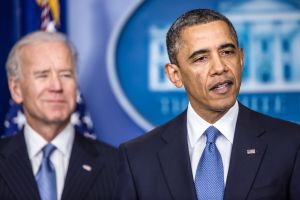 President Barack Obama, with the help of Vice President Joe Biden, forged a compromise with Congress on taxes.