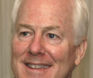 John Cornyn, among happy victors in the 2014 party primaries (file photo).
