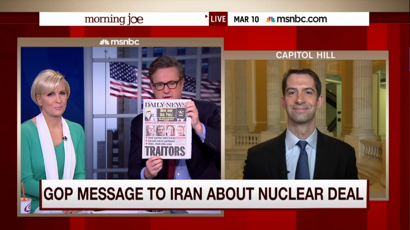 Is the letter to Iran from 47 Republican senators correct about