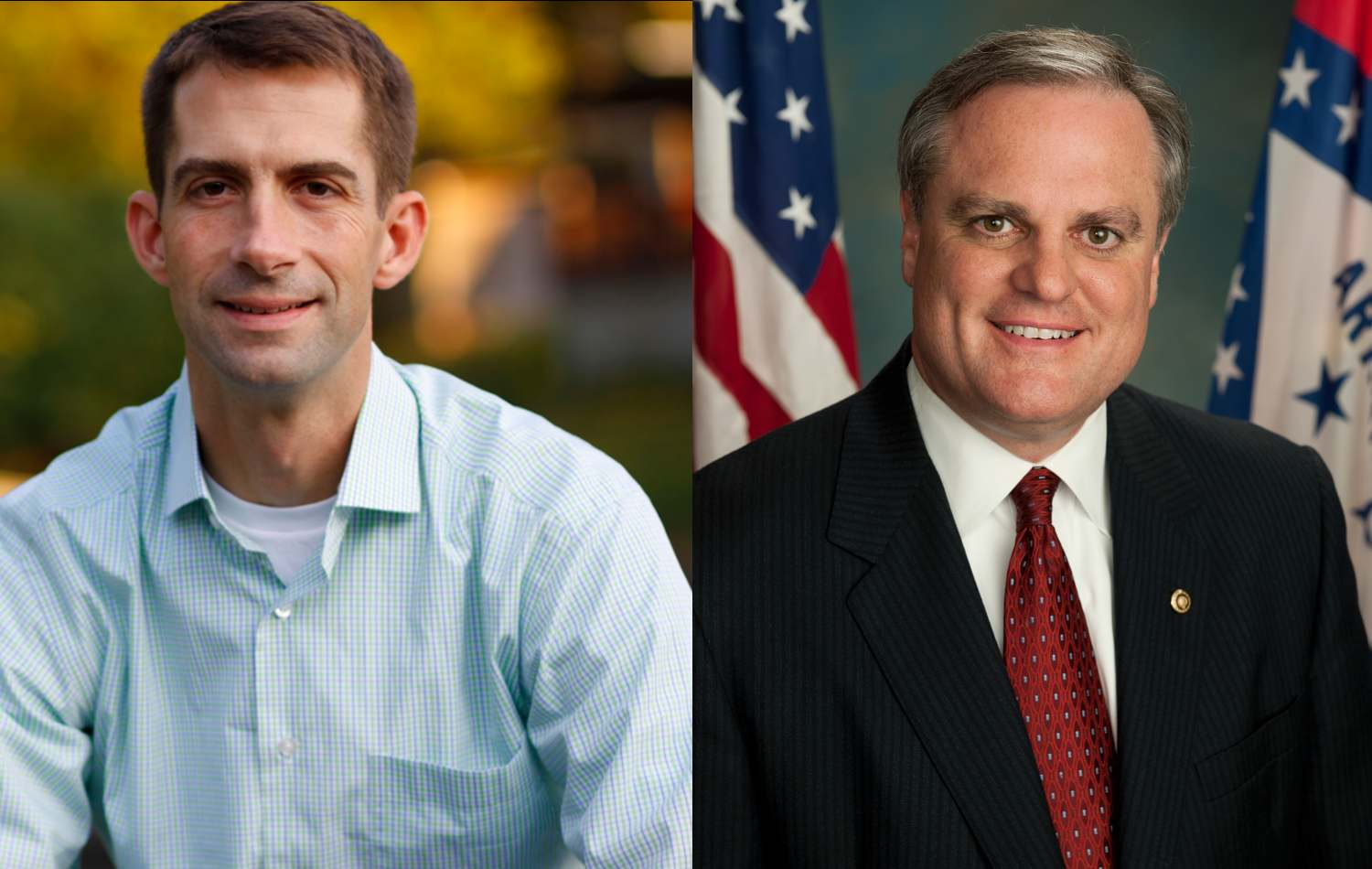 Tom Cotton and Mark Pryor are scheduled to debate Oct. 14, 2014, at the University of Arkansas.