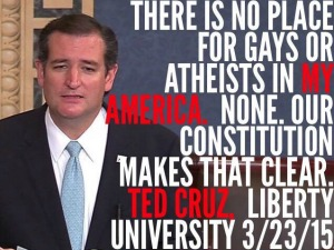 Ted cruz gay marriage