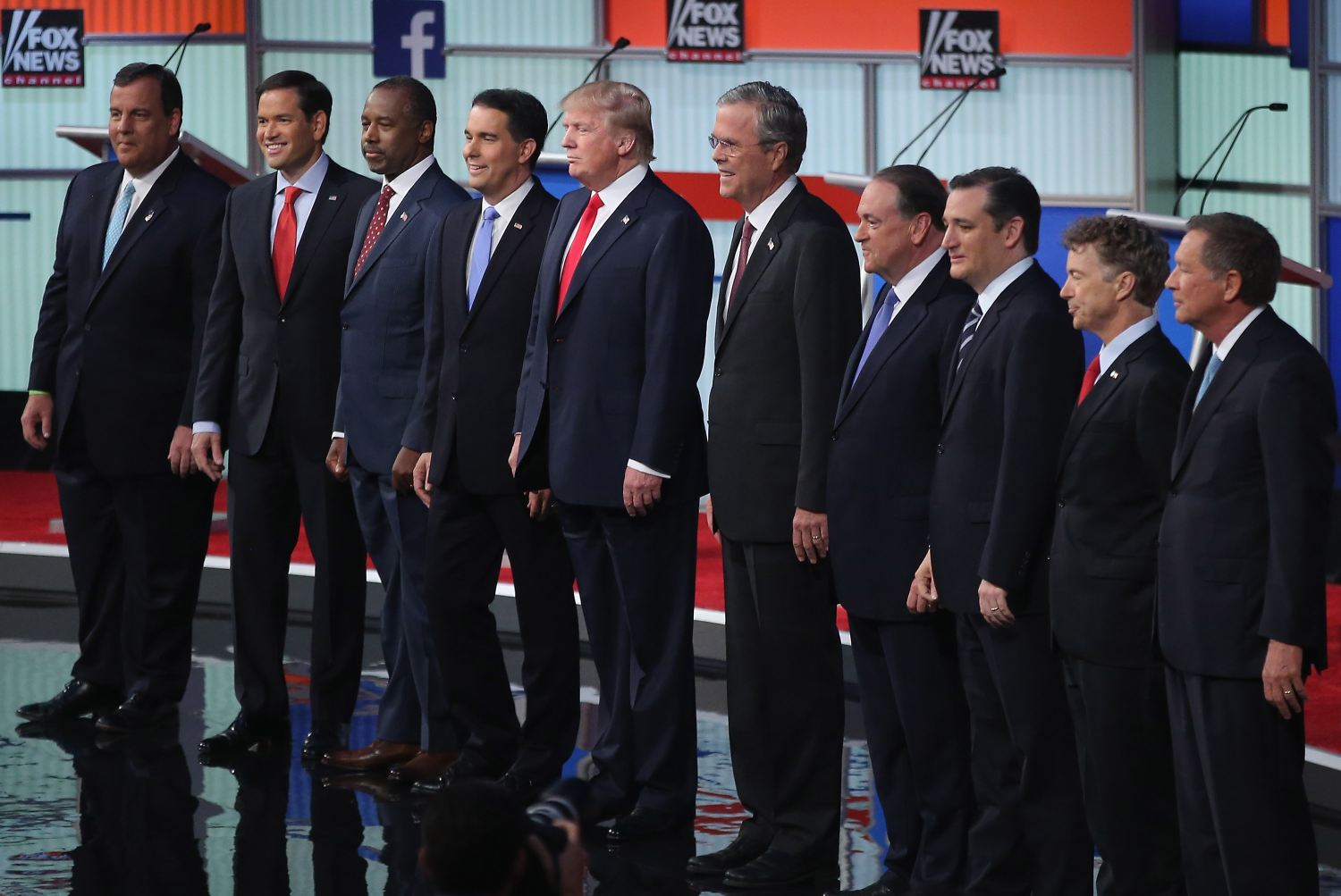 The Republican candidates for president debated in Cleveland, Ohio, on Aug. 6, 2015.