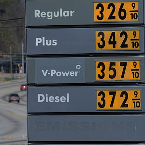 Gas prices are going up up and up. But is President Barack Obama to blame?