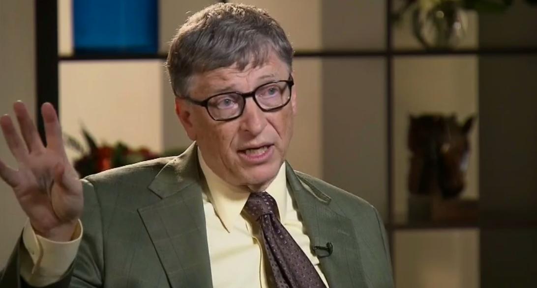 Bill Gates on CNN May 17, 2015.