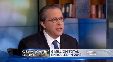 "Obama economic adviser Gene Sperling appeared on NBC's ""Meet the Press"" on Jan. 5, 2014."