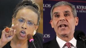 State Sens. Nia Gill and Joe Kyrillos are both running for national office this year.