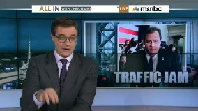 Chris Hayes hosted an 11 p.m. live special on MSNBC to discuss Gov. Chris Christie.