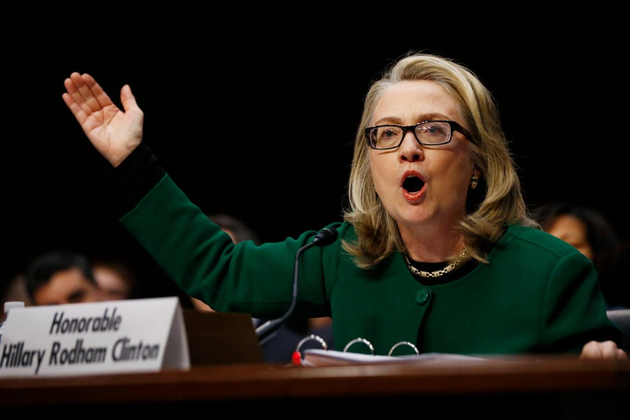 Sen. Rand Paul, R-Ky., wanted to talk about Hillary Clinton's reaction to the attack on a U.S. consulate in Benghazi, Libya.