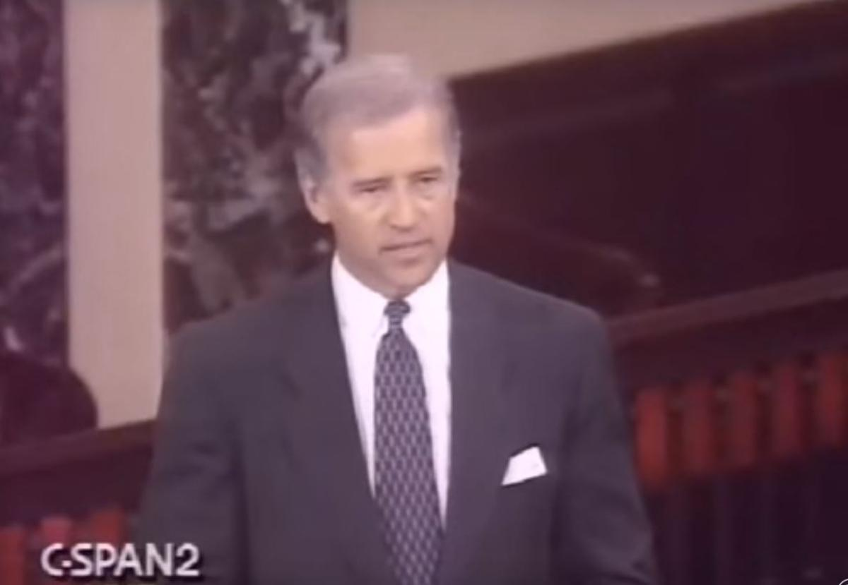 Republicans in the Senate are using a 1992 floor speech by then-Sen. Joe Biden to justify not confirming President Barack Obama's Supreme Court justice nominee, Merrick Garland. (CSPAN)