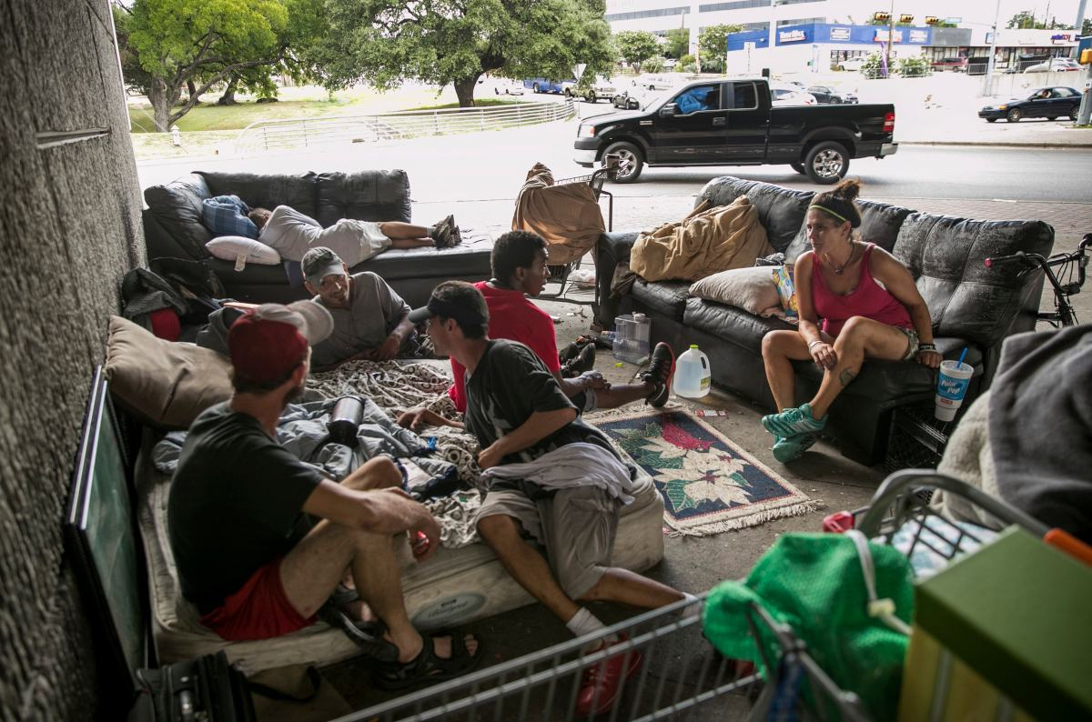 Austin homeless policy doesn't allow camping on private ...