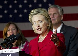 Where does Hillary Clinton rank on our list of most fact-checked people? (2013 AP Photo)