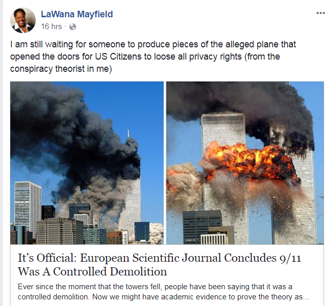 Charlotte city councilor: pieces of 9/11 planes haven't been