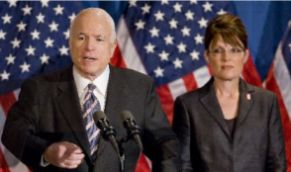 John McCain selected Sarah Palin as his running mate in 2008