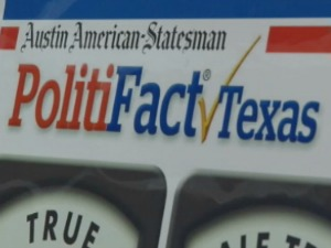 Anyone running for office could be hailed by the Texas Truth-O-Meter.