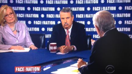 "Peggy Noonan and Thomas Friedman discuss the Bowe Bergdahl prisoner swap on CBS' ""Face the Nation."""