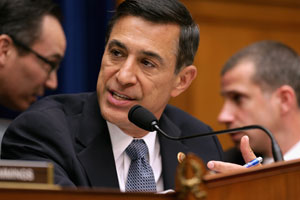 "House Oversight and Government Reform Committee Committee Chairman Darrell Issa, R-Calif., led a hearing titled, ""Benghazi: Exposing Failure and Recognizing Courage"" on May 8, 2013. (Getty Images)"