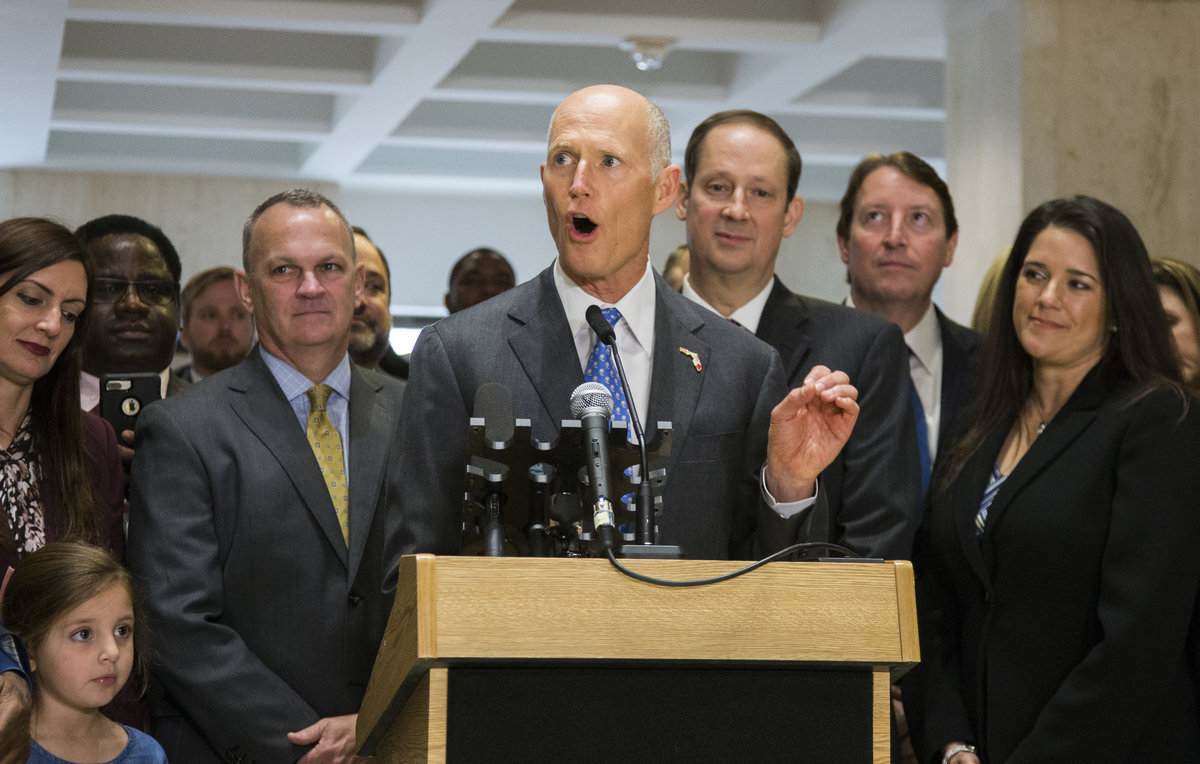 Florida Governor Is Signing K 12 Public >> Rick Scott Says K 12 State University Funding Is Highest In Last