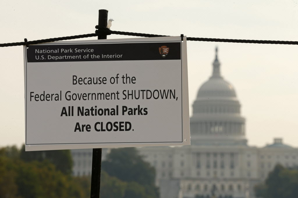 The federal health care law, also known as Obamacare, was at the center of debate that led to the government shutdown. Here, a sign on the National Mall tells visitors of the closures due to the shutdown. Reuters photo