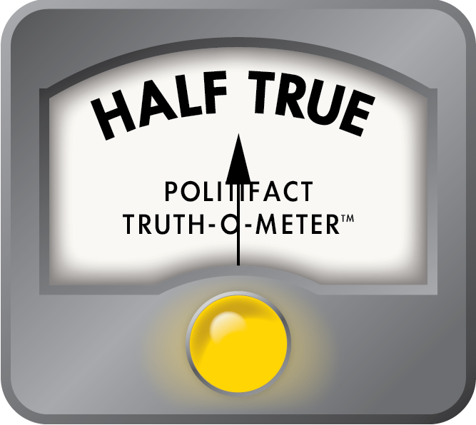 Our March fact-checks of statements about Planned Parenthood and the Women's Health Program both received a Half True rating.