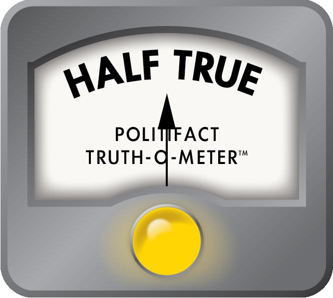 Arianna Huffington received a Half True for her claim about Halliburton.