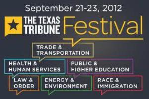The Texas Tribune festival presents numerous political figures, including state legislators.